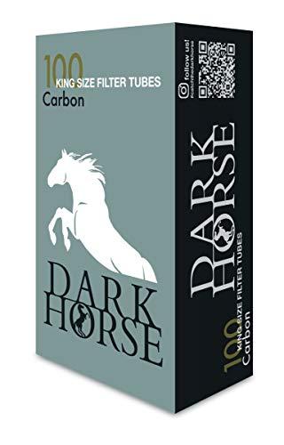 Dark Horse 1000 Aktivkohle Hülsen - Filterhülsen mit Kohle Filter - Hochwirksam - Carbon Filter