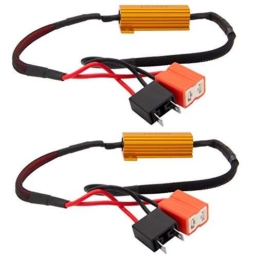 2 x H7 LED SMD CANBUS No Error bis 50W Widerstände Widerstand Nebelscheinwerfer