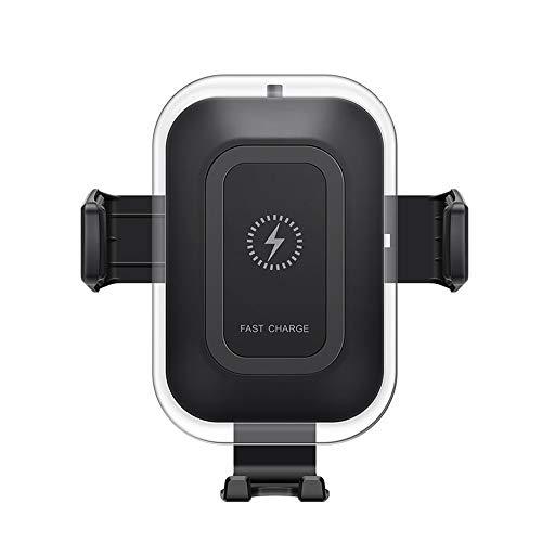 automatisch Drahtloses Autoladegerät Handyhalterung Automatische KlemmungWireless Charger 7.5W/10W für Samsung S9/S9+/Note 8/S8/Note 8/5, iPhone 8/ 8 Plus/XS/X alle Qi Fähige Geräte kabellos, Black