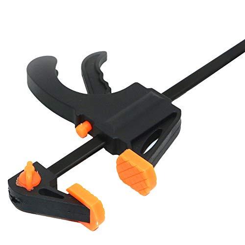 Tensay - Pinza de mano para trabajos profesionales, fijación precisa de piezas de trabajo para tensar piezas de trabajo con una sola mano