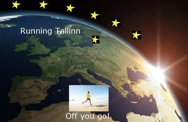 Running Tallinn (Running the EU Book 23) (English Edition)