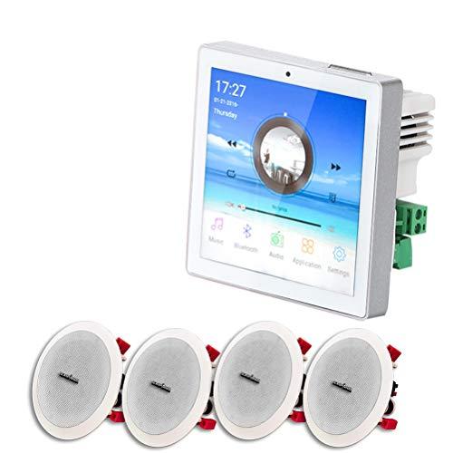 High song Digital Amplificador De Pared De Audio WiFi Bluetooth con Altavoz...