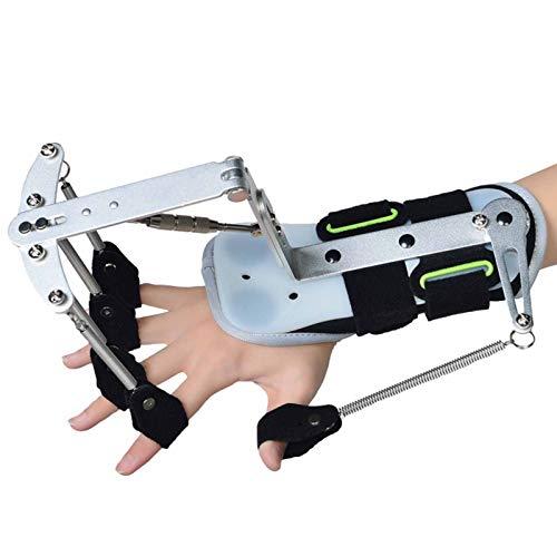Cushion Ortesis para Dedos Diapasón De Tipo Extendido, Diapasón Ortopédico para Dedos Soporte Universal para Entrenamiento De Férula De Mano Izquierda Y Derecha