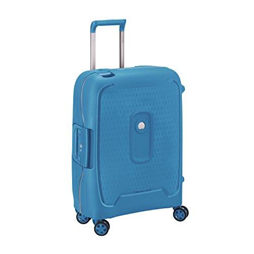 DELSEY Paris Moncey Maleta, 55 cm, 41 Liters, Azul (Bleu Clair)