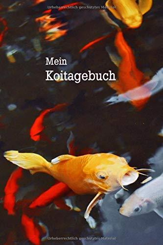 Mein Koi Tagebuch: Notizbuch mit 120 linierten Seiten für alle, die Kois mögen und Aufzeichnungen anfertigen.