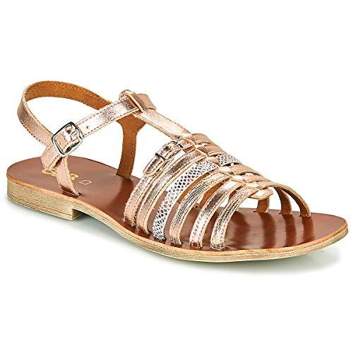 GBB Bangkok Sandali Ragazza Rosa/Oro - 38 - Sandali Shoes