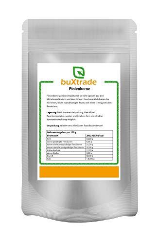 1 kg Pinienkerne | Grade A1 | naturbelassen | pflanzlich | fein & aromatisch | Pine Nuts | Nature |