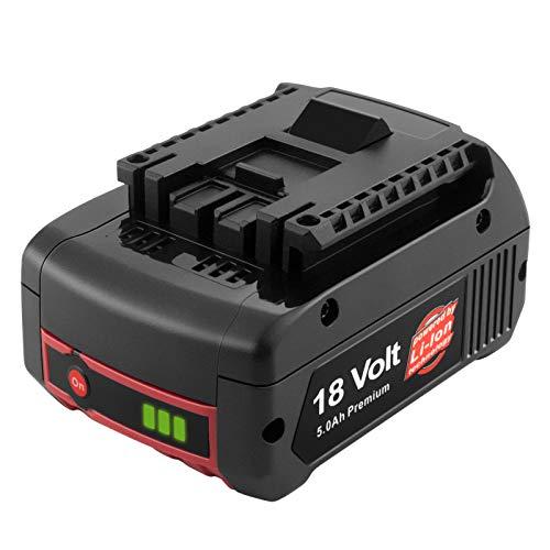 ADVTRONICS 18V 5,0Ah BAT609 Batería de repuesto para GBA BAT609G BAT609G BAT610G BAT618G BAT619 BAT621 BAT620