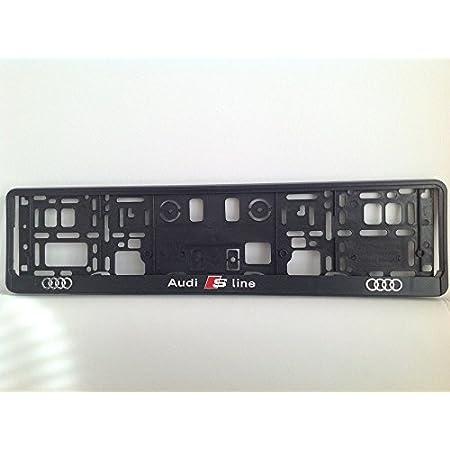 Audi S Line 3d Effekt Lizenz Kennzeichenhalter Auto