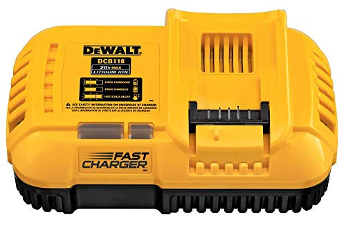DEWALT FLEXVOLT 20V MAX Charger, Rapid Charge (DCB118)