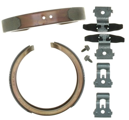 Raybestos 761PG Professional Grade Parking Brake Shoe Set Drum in Hat