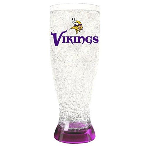 NFL Minnesota Vikings Kristall-Gefrierschrank-Pilsner, 473 ml