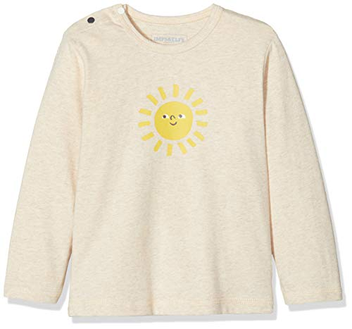 Imps & Elfs U Regular T-Shirt Ls Lady, Gris (Light Grey Mélange P476), 58 (Taille Fabricant: 56) Mixte bébé