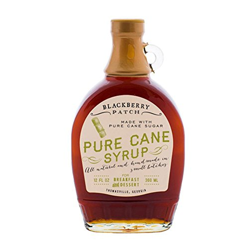 Blackberry Patch Pure Cane Syrup Syrups All Natural Handmade In Small Batches | For breakfast pancakes and waffles or drizzled over fresh fruit 12 fl oz (Pure Cane, 12 Ounce)