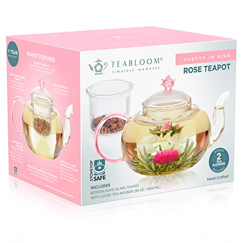 Pretty in Pink Rose Tea Gift Set