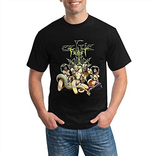 Celtic Frost Vintage T Shirt Men's Classic Summer Sweatshirt Top Black