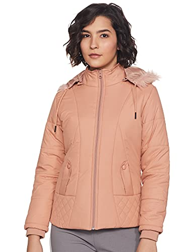 Cazibe Women's Jacket (39222BT_Peach_X-Large)
