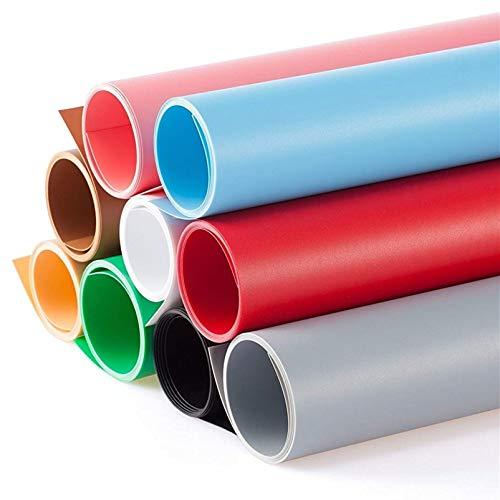 Selens 100x200CM Telón de Fondo PVC Vinilo 9 Color Backdrop Background para Fotografía Estudio Fotográfico Fotógrafo Photo Studio Photography