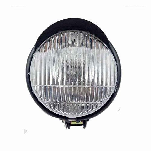 """BADASS SHARKS 5.5"""" Motorcycle Headlight Headlamp For Cruiser Chopper Cafe Racer Bobber Custom Black Street Fighter"""