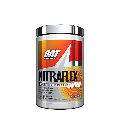 GAT Nitraflex Burn, Pink Lemonade, 318 g