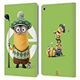 Head Case Designs Officially Licensed Despicable Me Kevin Golfer Costume Minions Leather Book Wallet Case Cover Compatible with Samsung Galaxy Tab A 10.1 2019