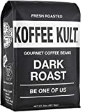 Koffee Kult Dark Roast Coffee Beans - Highest Quality Gourmet - Whole Bean Coffee - Fresh Roasted...