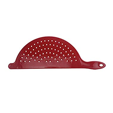 Pot Strainer 13 Long - Red by Mainstays