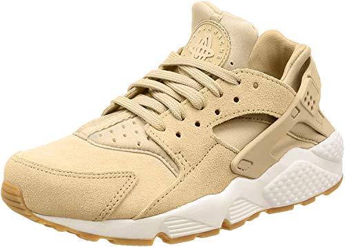 Nike–Wmns Air Huarache Run SD, Damen, Beige (MUSHROOM/LIGHT BONE-SAIL-GUM LIGHT BROWN), 37.5