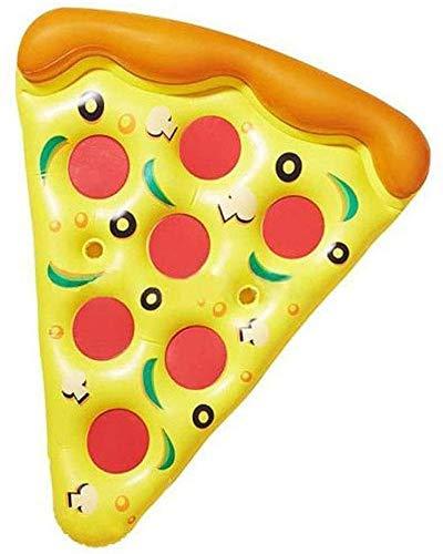 NLRHH Plegable Piscina, Fila Flotante Inflable, PVC Pizza de la Cama Flotante, Fila Flotante Inflable del Agua, Juguetes de Playa Inflable esteras del Partido Peng
