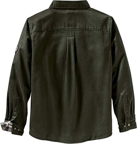 Legendary Whitetails Mens Journeyman Shirt Jacket Army Large