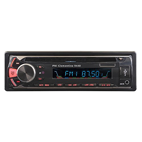 Radio DVD auto PNI Clementine 9440,1 DIN autoradio, Bluetooth audiomanger, CD-speler met FM-radio, afstandsbediening en IOS kabel, ondersteuning voor MP3 / USB/SD/AUX/FM/iPod/iPhone