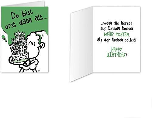 Sheepworld - Mini-Klappkarte, Geburtstagskarte Nr. 11