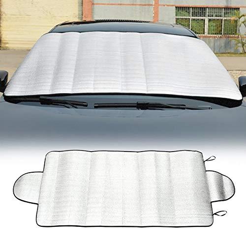 YSHtanj Auto Voorruit Cover Externe Decoratie Auto Cover Auto Voorruit Zon Sneeuw Schaduw Blokkeren Anti-UV Stofafdekking Protector