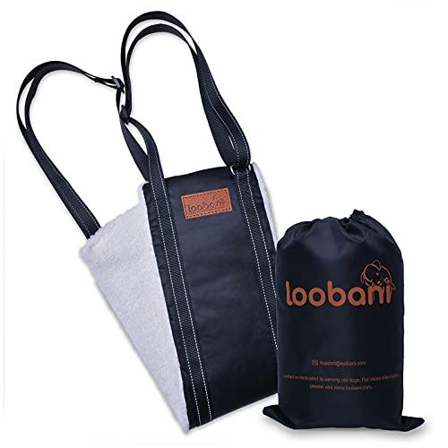 LOOBANI Portable Dog Sling for Back Legs, Hip Support Harness