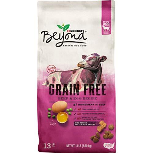 Purina Beyond Grain Free, Natural Dry Dog Food, Grain Free Beef & Egg Recipe - 13 lb. Bag