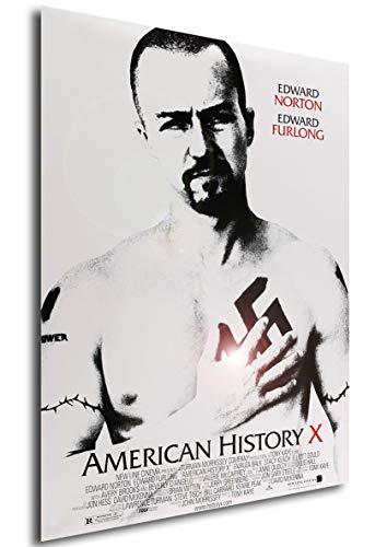 Instabuy Poster American History X Vintage Movie Poster - A3 (42x30 cm)