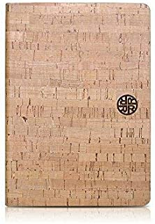 Cork Wood Folio Case Compatible with iPad Pro 12.9 (2018 Version only) by Reveal Shop - Natural, Eco-Friendly Design, Adjustable Viewing Angles (Cork, iPad Pro 12.9)