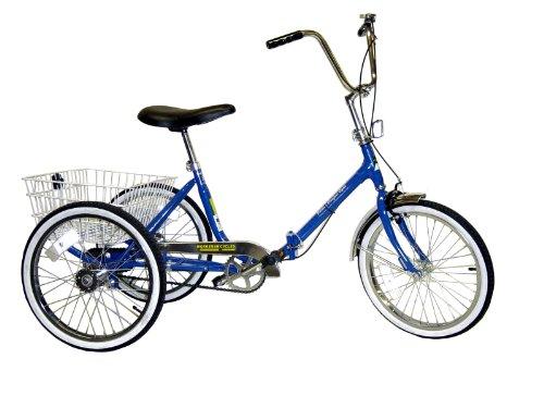 Worksman Port-o-Trike Single Speed Adult Tricycle