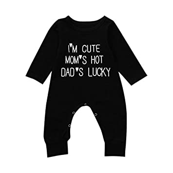 WARMSHOP Infant Boys Girls Cotton Long Sleeve Organic Hooded Romper Star and Moon Print Button Creepers Bodysuit