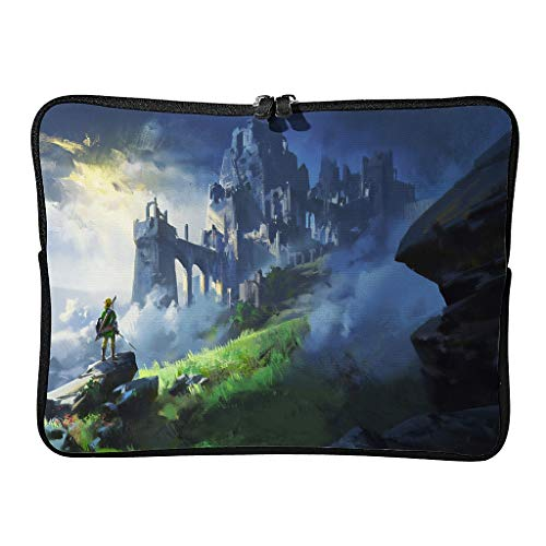 Zelda-Mystery Laptop Bags Fashionable Scratch-Resistant Laptop Bag Suitable for Indoor Use in 5 Sizes