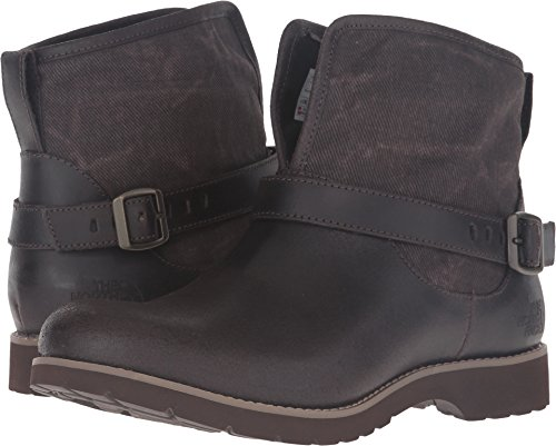 The North Face Ballard Pull-On II Canvas Coffee Bean Brown/Weimaraner Brown Women's Pull-on Boots