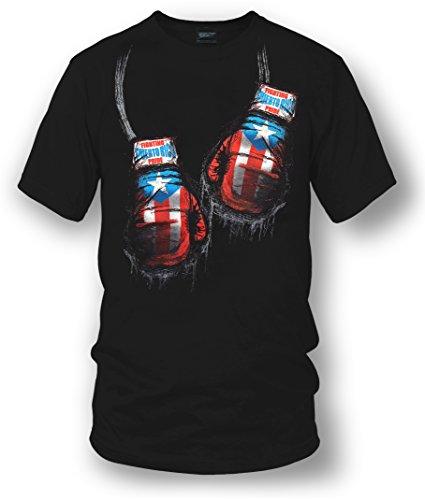 Wicked Metal Puerto Rico Boxing Shirt, Puerto Rico Pride