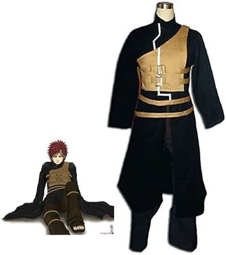 Anime Japanische Naruto Vol. 2 Cosplay - Gaara cosplay Kostüm SchwarzGröße M H  163-16cm,Gewicht 50-60 kg