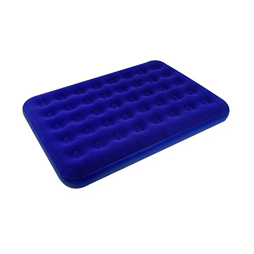 Stansport Deluxe Full Size Air Bed, Blue - 75' x 54' x 9'