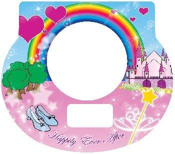 Tot Clock Faceplate: Princess Design