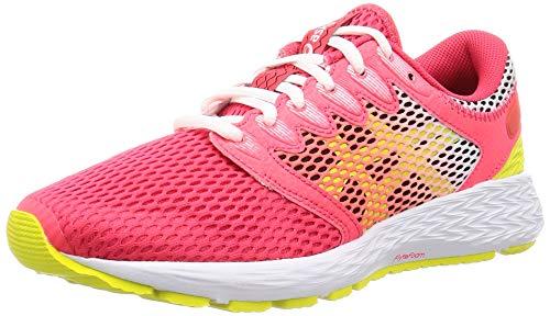 Asics Roadhawk FF 2, Zapatillas de Running para Mujer, Rosa (Laser Pink/Sour Yuzu 702), 44.5 EU