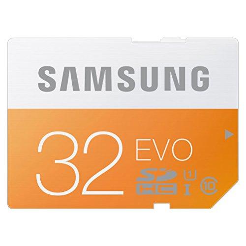 SDカード 32GB SAMSUNG EVO Class10 UHS-I対応 (最大転送速度48MB/s) 10年保証 MB-SP32D/JPEC 【日本サムスン正規品】