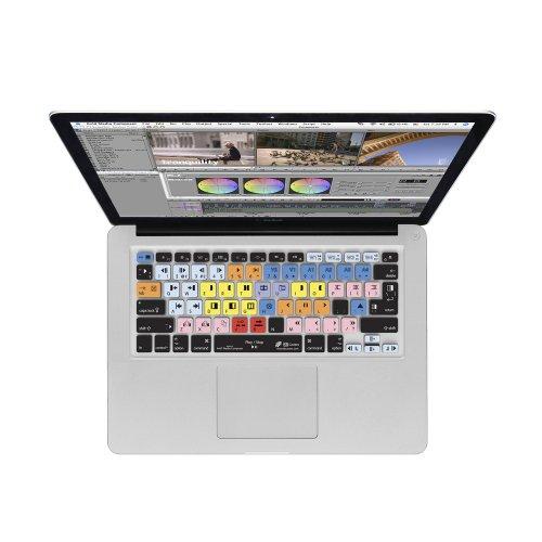 KB Covers Avid Media Composer Keyboard Case für MacBook/Air 13/Pro Retina und Wireless