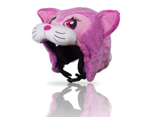 Hoxyheads Schutzhülle für Kopfhörer Design Katzenköpfe Rosa