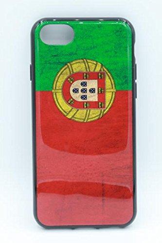 Tarley telefoonhoes Portugal WK voetbal vlag vlag vlag vlag wetlook hoes Pråal